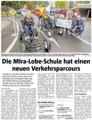 SpenDobel & ProFiliis unterstützen die Mira-Lobe-Schule