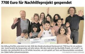 ProFiliis unterstützt Kinderschutzbund